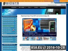 Miniaturka domeny www.biosys.pl