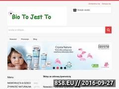 Miniaturka Sklep ze zdrową żywnością (biotojestto.pl)