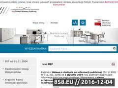 Miniaturka domeny www.bip.ires.pl
