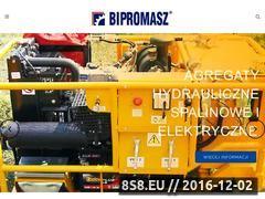 Miniaturka domeny bipromasz.pl