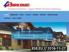 Miniaturka domeny www.birkbud.pl