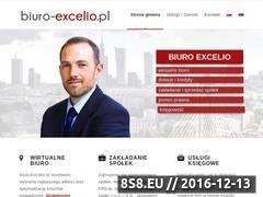 Miniaturka domeny www.biuro-excelio.pl
