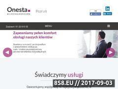 Miniaturka domeny biuro-onesta.pl
