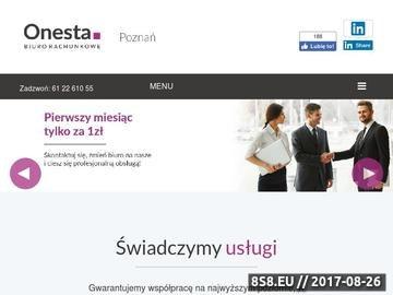 Zrzut strony Biuro rachunkowe Poznań