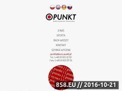 Miniaturka domeny www.biuro-punkt.com
