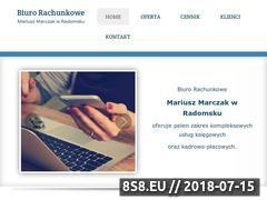 Miniaturka biuro-rachunkowe-marczak.pl (Usługi rachunkowe i księgowe)