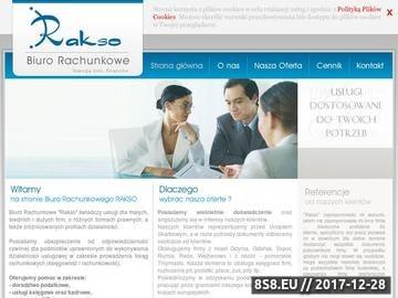 Zrzut strony Usługi księgowe Gdynia
