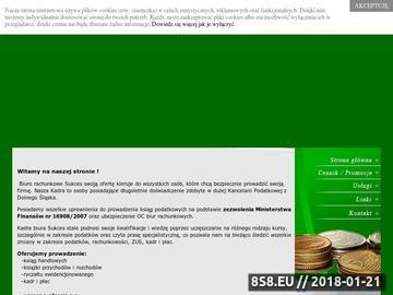 Zrzut strony Usługi księgowe Oleśnica