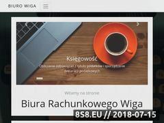 Miniaturka www.biuro-wiga.pl (Usługi księgowe)