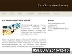 Miniaturka domeny www.biurolucrum.pl