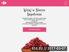 Miniaturka biuronapoleona.carrefour.pl (Carskie przepisy)