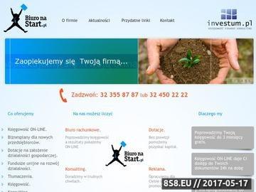 Zrzut strony Biuro rachunkowe Katowice