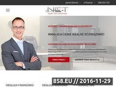 Miniaturka domeny www.biurorachunkowe.net.pl