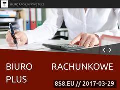 Miniaturka biurorachunkoweplus.katowice.pl (Usługi rachnnkowe)