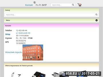 Zrzut strony Biuroservice - Centrum Urządzeń Biurowych