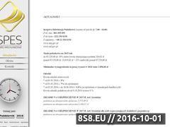 Miniaturka domeny www.biurospes.pl