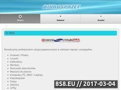Miniaturka domeny www.biurosprzet.pl