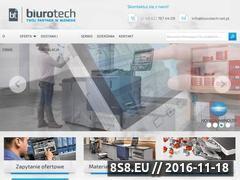 Miniaturka domeny www.biurotech.net.pl