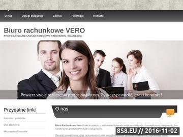 Zrzut strony Biuro księgowe Białołęka, Tarchomin
