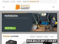 Miniaturka domeny biznesgadzet.pl