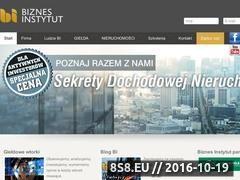 Miniaturka domeny biznesinstytut.pl