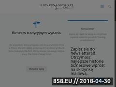 Miniaturka biznesnaostro.pl (Pomysł na biznes)