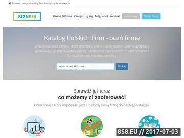 Zrzut strony Serwis informacyjny