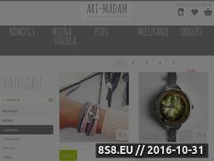 Miniaturka domeny bizuteria.art-madam.pl