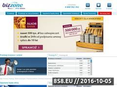 Miniaturka domeny bizzone.pl