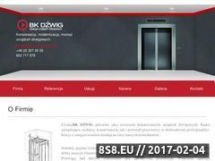Miniaturka domeny www.bkdzwig.pl