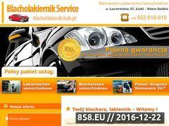 Miniaturka domeny www.blacholakiernik-lodz.pl