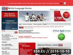 Miniaturka domeny www.blc.pl