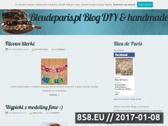 Miniaturka domeny www.bleudeparis.pl