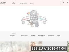 Miniaturka Blog z inspiracjami ślubnymi oraz poradami weselnymi (www.blog-madameallure.pl)
