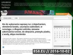 Miniaturka domeny blog.amargo.nazwa.pl