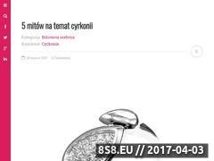 Miniaturka blog.bizutik.pl (Blog o biżuterii)