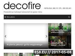 Miniaturka domeny blog.decofire.pl