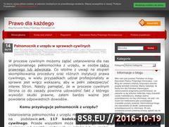 Miniaturka domeny www.blog.honoratuslex.pl