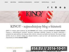 Miniaturka blog.kingy.pl (Zdjęcia modnej biżuterii, inspiracje i porady)