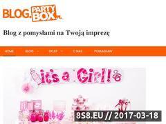 Miniaturka domeny blog.partybox.pl