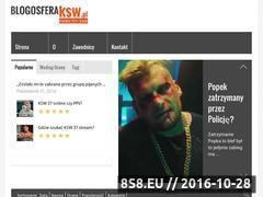 Miniaturka blogosfera-ksw.pl (Informacje o sztukach walki i KSW)