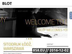 Miniaturka domeny blotpracownia.pl