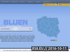 Miniaturka www.bluen.pl (Baza firm i usług)