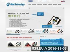 Miniaturka domeny www.bluetechnology.pl