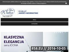 Miniaturka domeny www.bluewater.pl