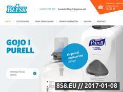 Miniaturka domeny www.blysk.net