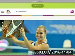 Miniaturka www.bnpparibaskatowiceopen.com (Turniej tenisowy)