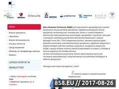 Miniaturka domeny www.bnt-sigma.pl