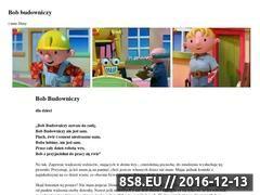 Miniaturka domeny www.bob-budowniczy.com.pl