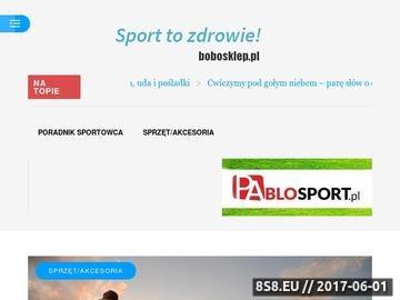 Zrzut strony Bobosklep.pl - sklep dla dzieci i niemowląt, akcesoria, wyprawka, wózki, zabawki